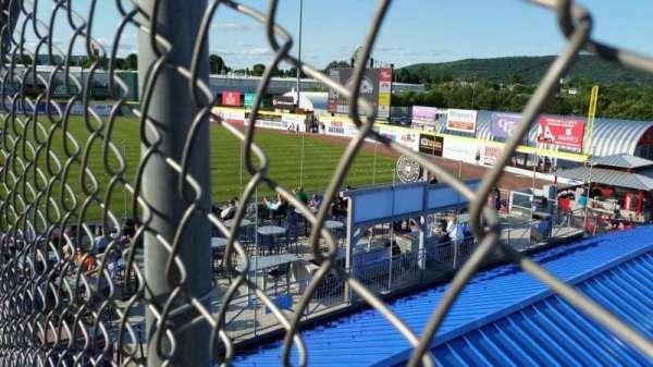 NYSEG Stadium, secção: 114, fila: X, lugar: 11
