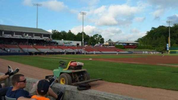 Dodd Stadium, secção: 2, fila: CC, lugar: 19