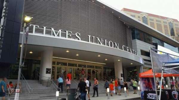 Times Union Center, secção: EXTERIOR