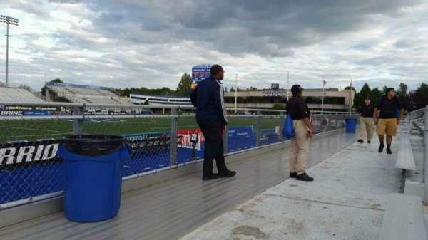 James M. Shuart Stadium, secção: 7, fila: 1, lugar: 1