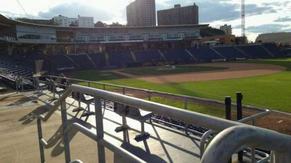 Richmond County Bank Ballpark, secção: 17, fila: N, lugar: 24