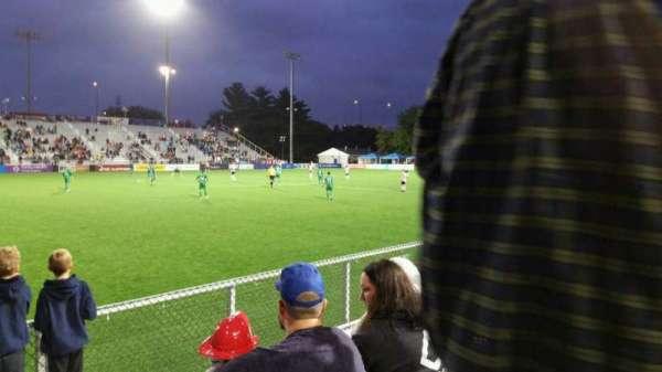 Dillon Stadium, secção: 2, fila: C, lugar: 1