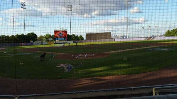 Richmond County Bank Ballpark, secção: 9, fila: E, lugar: 1