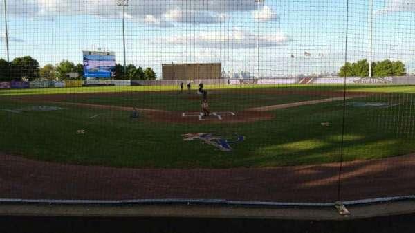 Richmond County Bank Ballpark, secção: 9, fila: E, lugar: 9