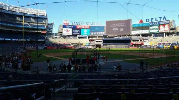 Yankee Stadium, secção: 119, fila: 8, lugar: 13