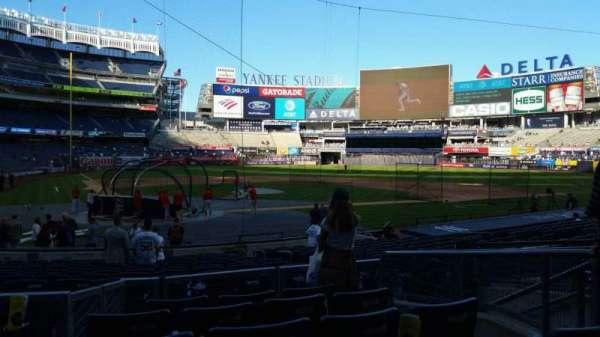 Yankee Stadium, secção: 118, fila: 6, lugar: 7