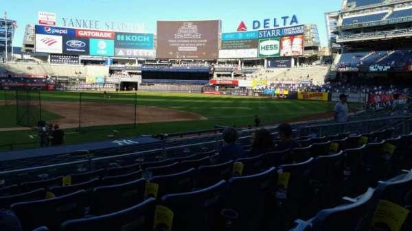 Yankee Stadium, secção: 116, fila: 6, lugar: 18