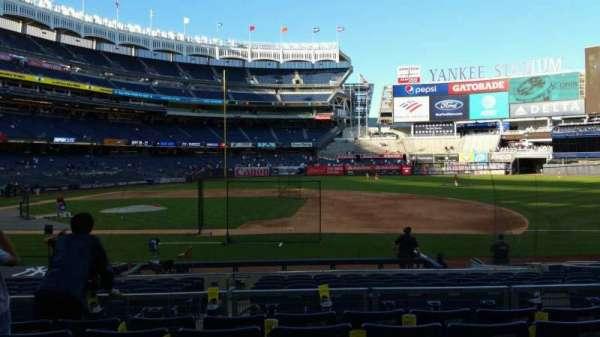 Yankee Stadium, secção: 115, fila: 6, lugar: 8