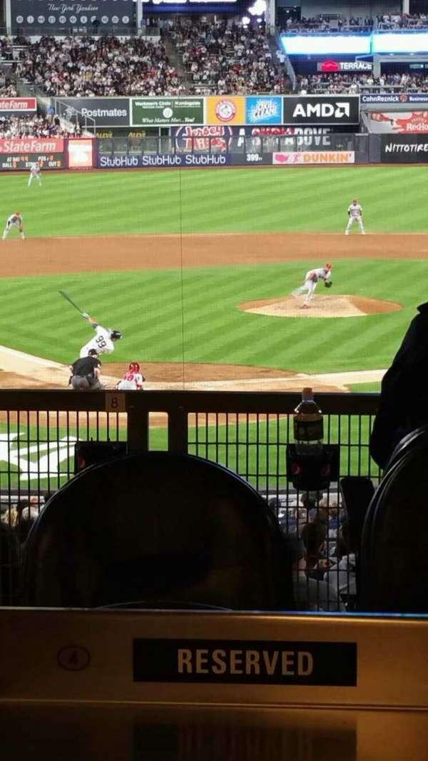 Yankee Stadium, secção: 119, fila: SR