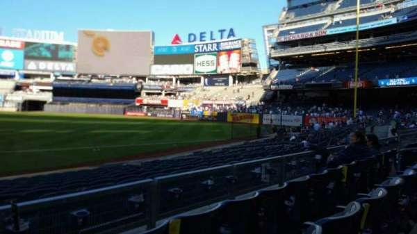 Yankee Stadium, secção: 114B, fila: 3, lugar: 16