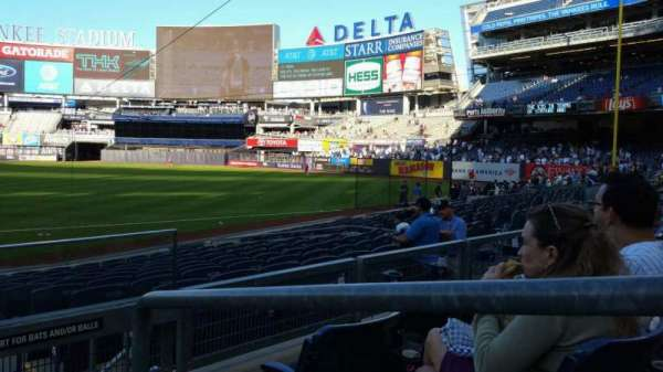 Yankee Stadium, secção: 214, fila: 3, lugar: 1