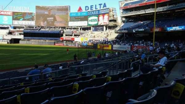 Yankee Stadium, secção: 114A, fila: 7, lugar: 13