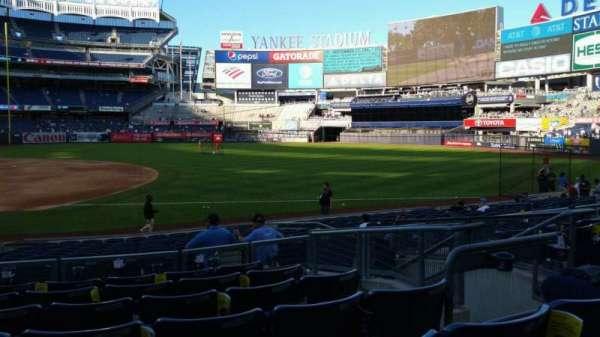 Yankee Stadium, secção: 114A, fila: 7, lugar: 7