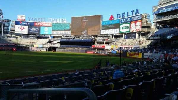 Yankee Stadium, secção: 114A, fila: 7, lugar: 1
