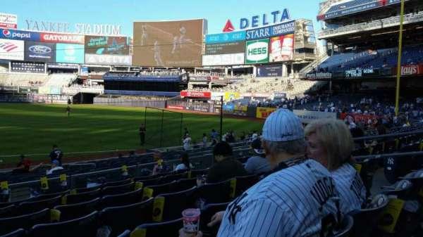 Yankee Stadium, secção: 113, fila: 7, lugar: 11