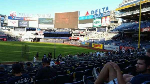 Yankee Stadium, secção: 112, fila: 11, lugar: 16