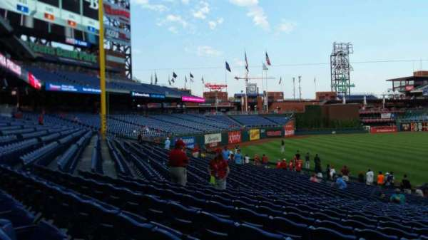 Citizens Bank Park, secção: 136, fila: 27, lugar: 1