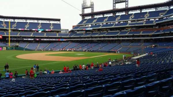 Citizens Bank Park, secção: 136, fila: 27, lugar: 9