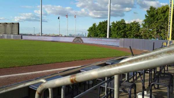 Richmond County Bank Ballpark, secção: 16, fila: E, lugar: 1