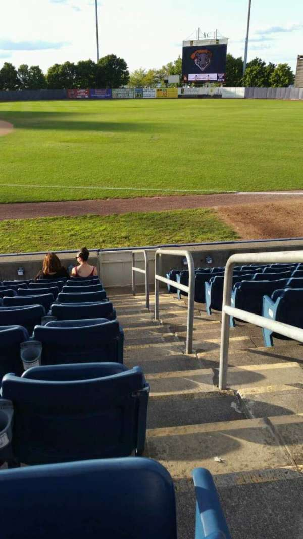 Richmond County Bank Ballpark, secção: 15, fila: K, lugar: 1