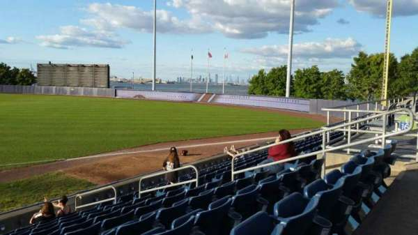 Richmond County Bank Ballpark, secção: 15, fila: L, lugar: 9