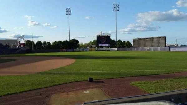 Richmond County Bank Ballpark, secção: 14, fila: G, lugar: 1