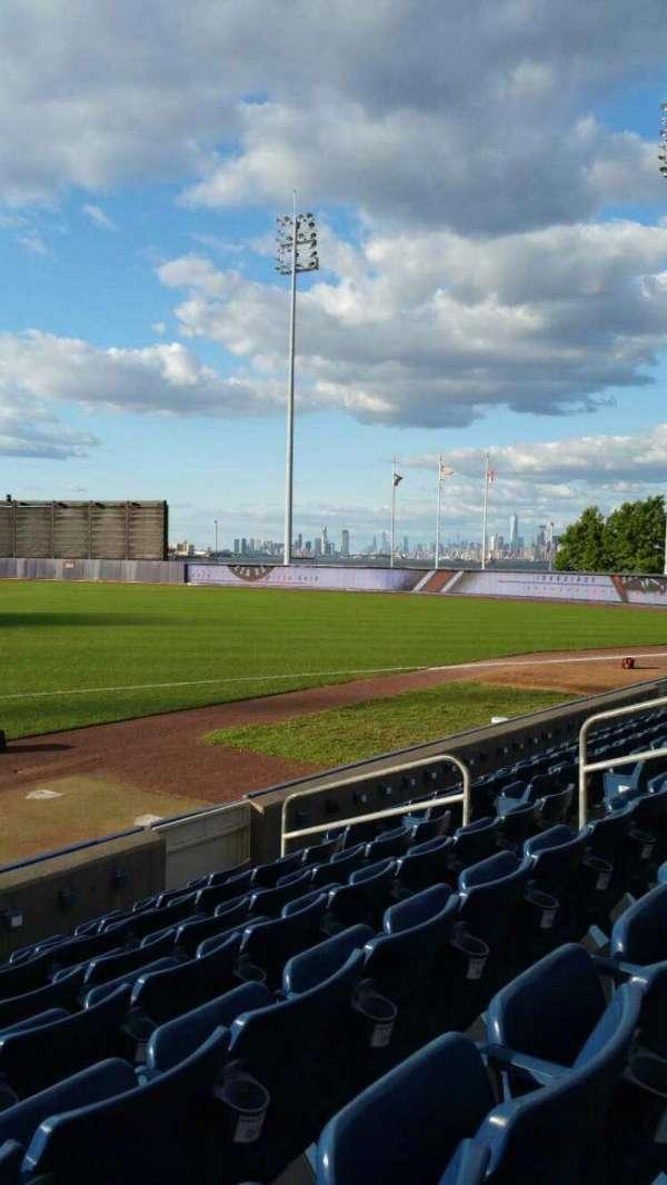 Richmond County Bank Ballpark, secção: 14, fila: G, lugar: 12