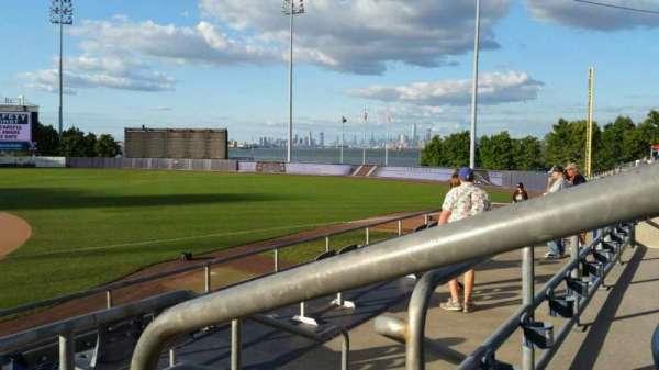 Richmond County Bank Ballpark, secção: 13, fila: P, lugar: 1