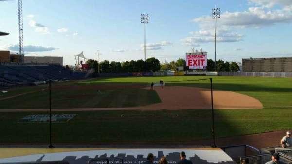 Richmond County Bank Ballpark, secção: 13, fila: P, lugar: 23