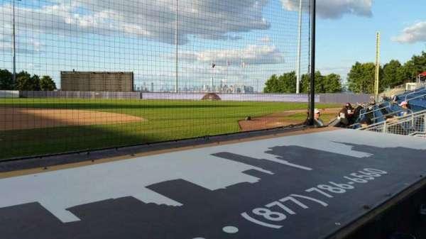 Richmond County Bank Ballpark, secção: 12, fila: D, lugar: 1