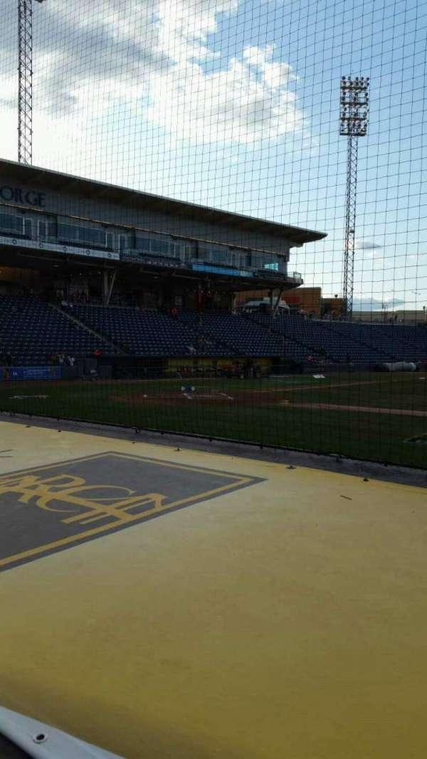 Richmond County Bank Ballpark, secção: 12, fila: D, lugar: 11