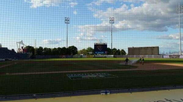 Richmond County Bank Ballpark, secção: 11, fila: E, lugar: 1