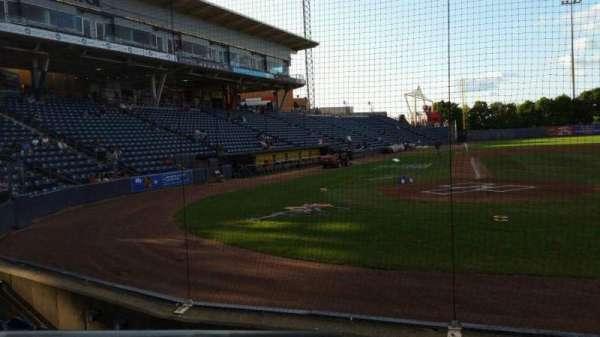 Richmond County Bank Ballpark, secção: 11, fila: E, lugar: 19