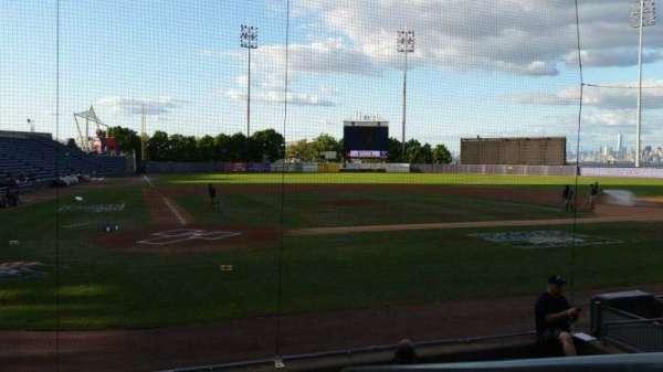 Richmond County Bank Ballpark, secção: 10, fila: H, lugar: 1
