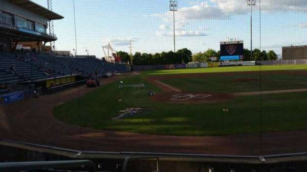 Richmond County Bank Ballpark, secção: 10, fila: H, lugar: 9