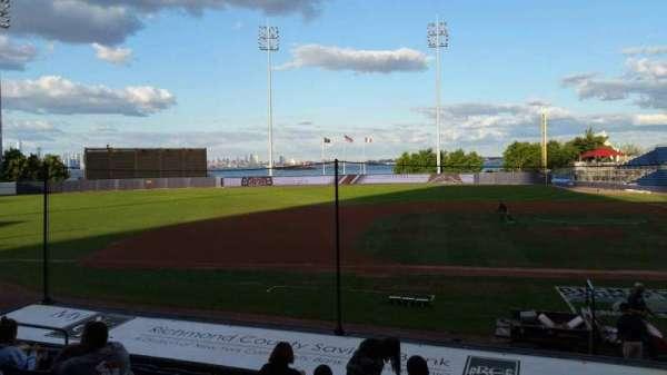 Richmond County Bank Ballpark, secção: 6, fila: M, lugar: 11