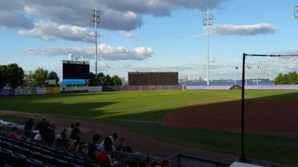 Richmond County Bank Ballpark, secção: 5, fila: K, lugar: 1