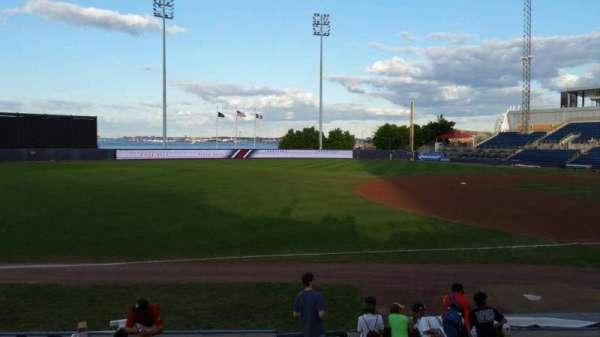 Richmond County Bank Ballpark, secção: 3, fila: K, lugar: 1