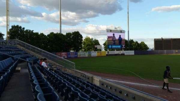 Richmond County Bank Ballpark, secção: 2, fila: F, lugar: 1