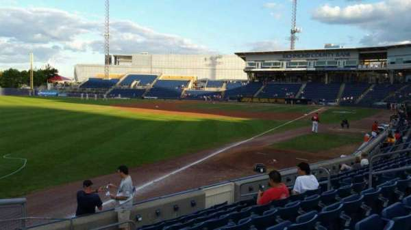 Richmond County Bank Ballpark, secção: 1, fila: J, lugar: 11