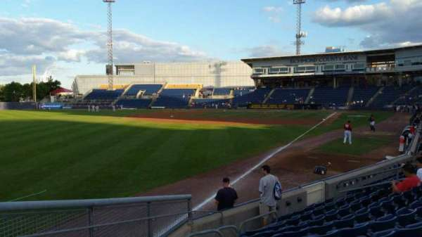 Richmond County Bank Ballpark, secção: 1, fila: J, lugar: 18