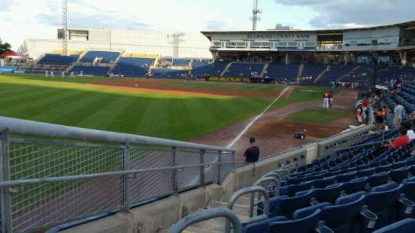 Richmond County Bank Ballpark, secção: 1, fila: J, lugar: 24