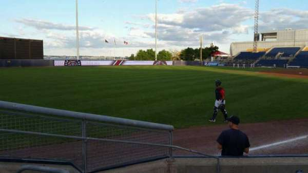 Richmond County Bank Ballpark, secção: 1, fila: F, lugar: 11