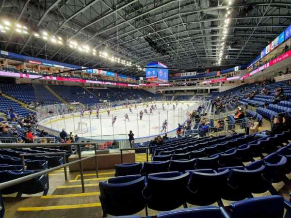 Webster Bank Arena, secção: 102, fila: J, lugar: 18