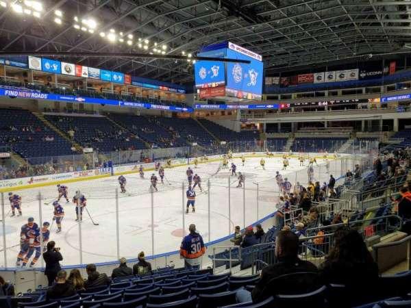 Webster Bank Arena, secção: 102, fila: J, lugar: 10