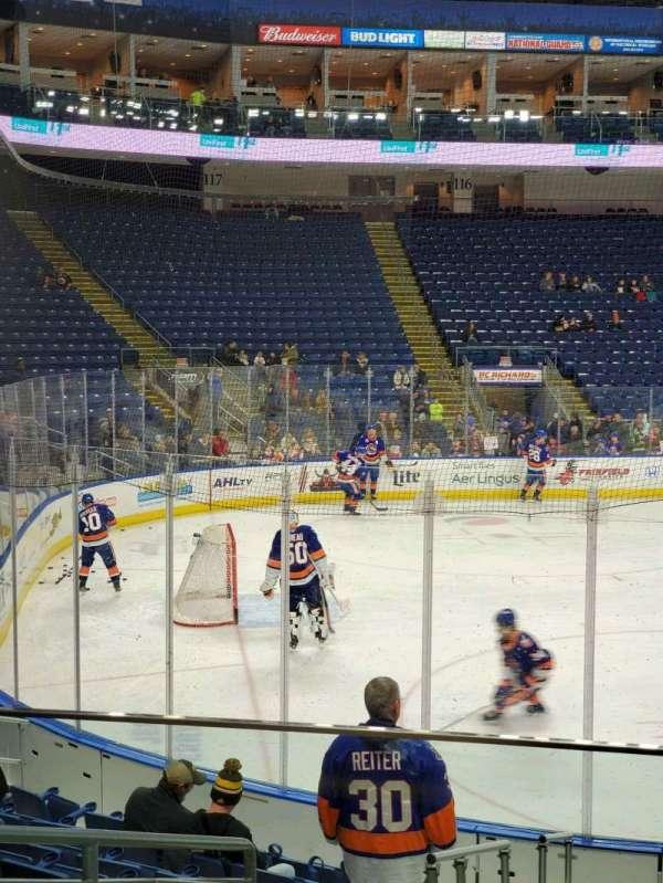 Webster Bank Arena, secção: 103, fila: G, lugar: 16