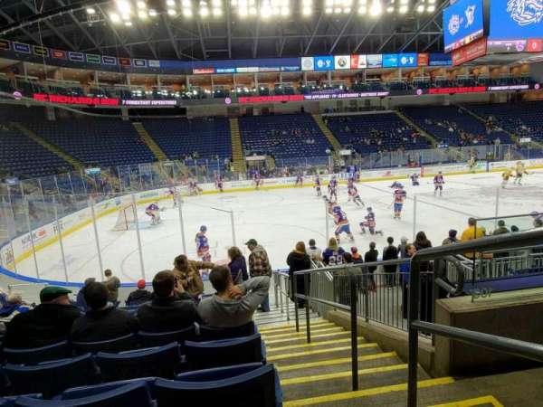Webster Bank Arena, secção: 103, fila: G, lugar: 1
