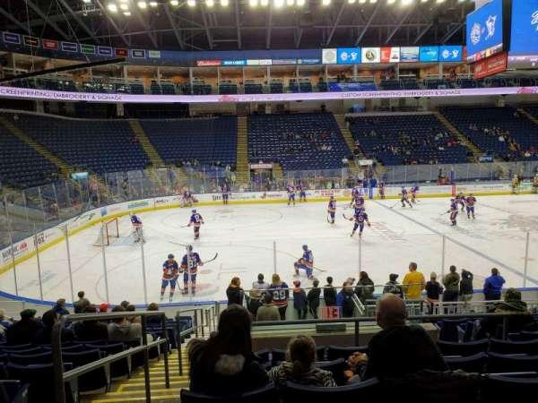 Webster Bank Arena, secção: 104, fila: L, lugar: 24