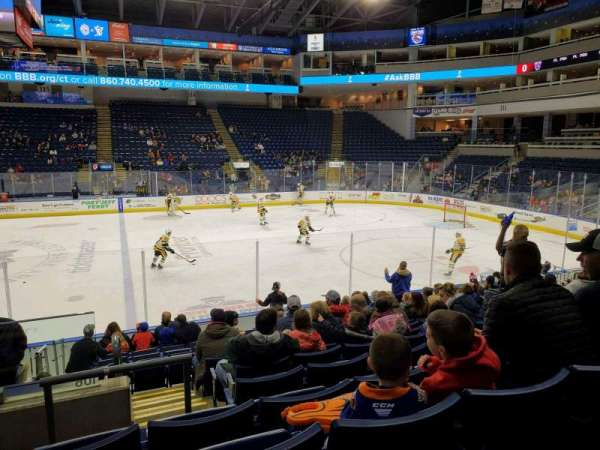 Webster Bank Arena, secção: 106, fila: J, lugar: 24