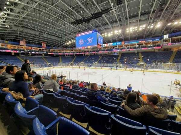 Webster Bank Arena, secção: 106, fila: J, lugar: 10